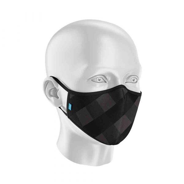 Máscara Protect Others 2.0 - Xadrez Preta