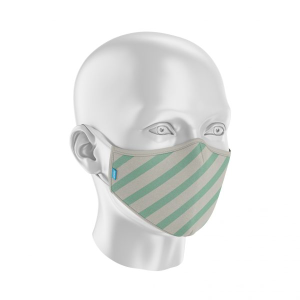 Máscara Protect Others 2.0 - Listada Verde