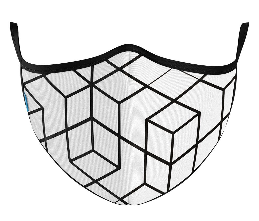 Máscara Protect Others 2.0 - 3D Branca